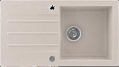 Кухонна мийка KERNAU KGS A 50 1B1D SAND