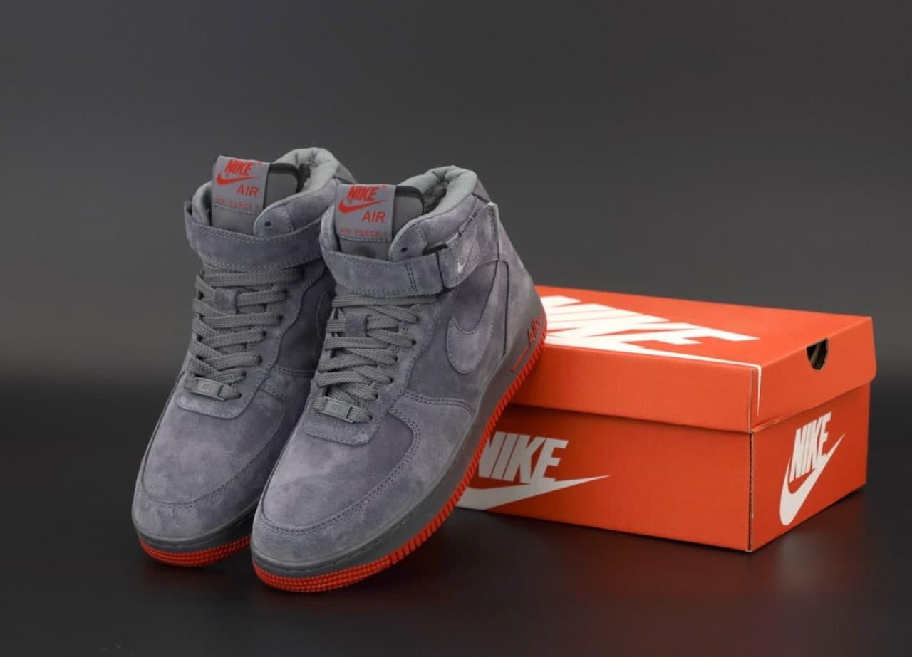 Мужские зимние кроссовки  Nike  Air Force (копия)