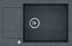 Кухонна мийка KERNAU KGS H 6078 1B1D GRAPHITE