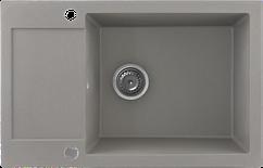Кухонна мийка KERNAU KGS H 6078 1B1D GREY METALLIC
