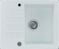 Кухонна мийка KERNAU KGS A 4560 1B1D PURE WHITE