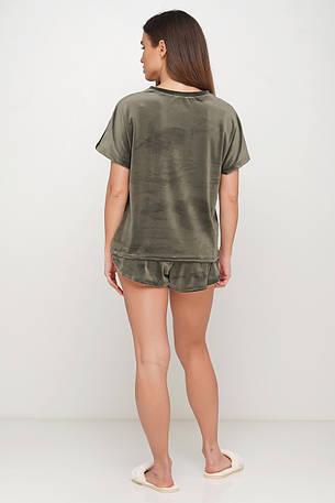 Велюровая пижама шорты и футболка TM Orli, фото 2