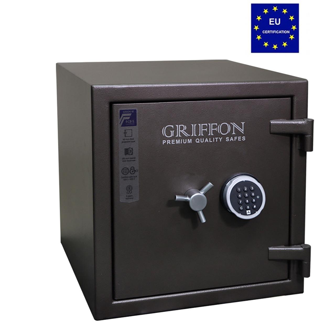 Взломостойкий сейф GRIFFON CLE.III.50.E (Украина)
