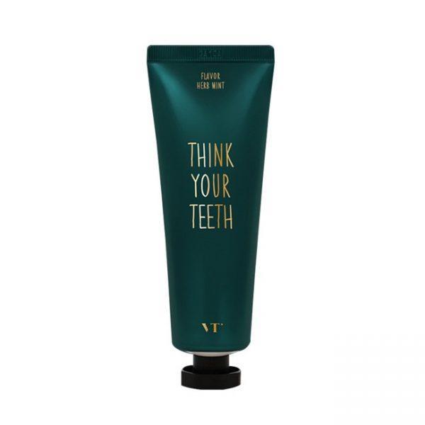 Зубная паста со вкусом мяты, VT Cosmetics, Gentle Flavor Classic Toothpaste, Herb Mint,100g