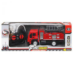 Пожарная машина на радиоуправлении с подъемником