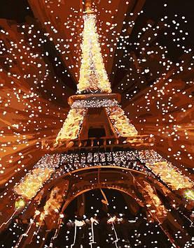 Картина по номерам 40х50 см DIY Салют в Париже (NX 9226)