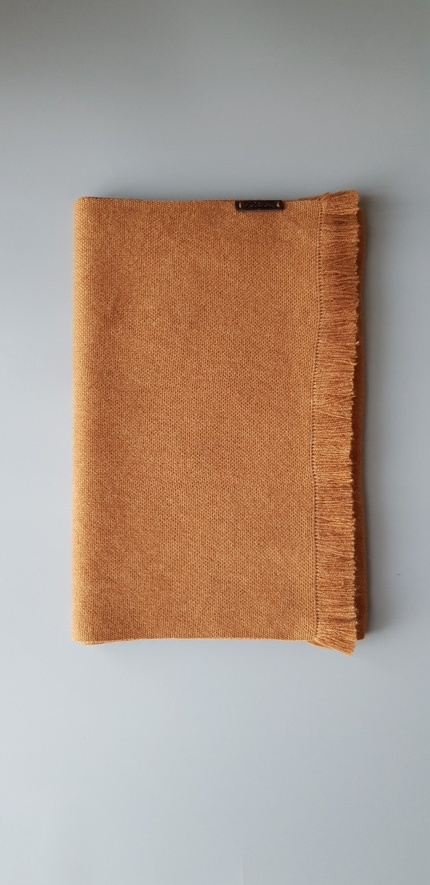 Мужской кашемировый шарф цвета викунья