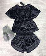 Красивая графитовая женская  пижама, фото 2