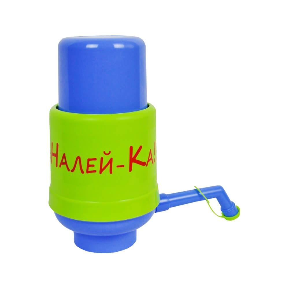"""Помпа  механическая Виапласт Lilu """"НАЛЕЙ-КА!!!"""" для бутилированной воды (C0000000211)"""