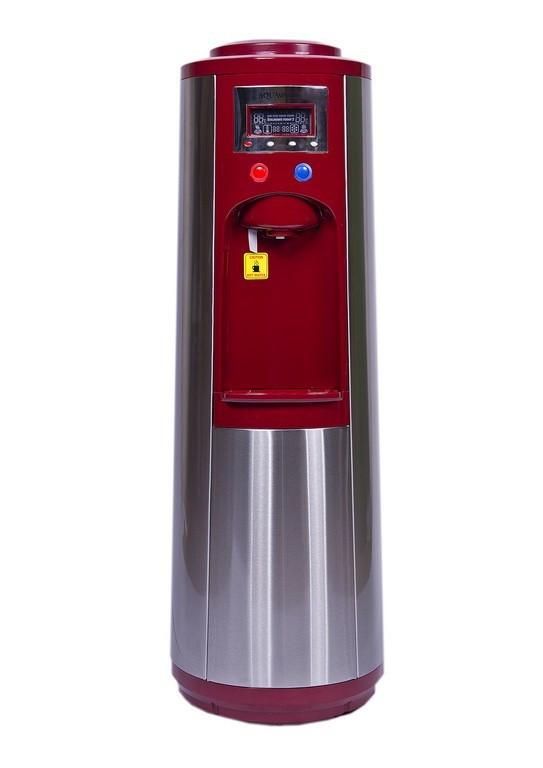 Кулер для воды напольный  компрессорный AquaWorld HC-68L Red (00000000162)