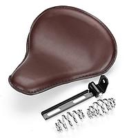 Комплект соло сиденье Bobber Seat Brown (крокодиловая кожа \ Заменитель) Коричневий 2