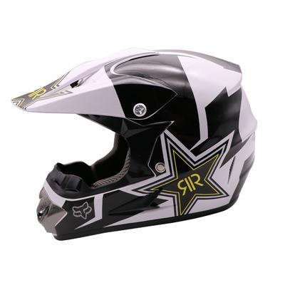 "Шлем для мотокросса велосипедный  ""Fox Rock Star"" DH FR"