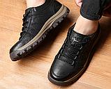 Ботинки черные THF, фото 3