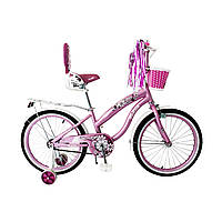 """Велосипед для девочек Flower-Rueda 03B Колёса 18"""""""