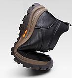 Ботинки черные THF, фото 4