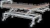 Тележка медицинская ТПБР для транспортировки пациента с регулировкой высоты