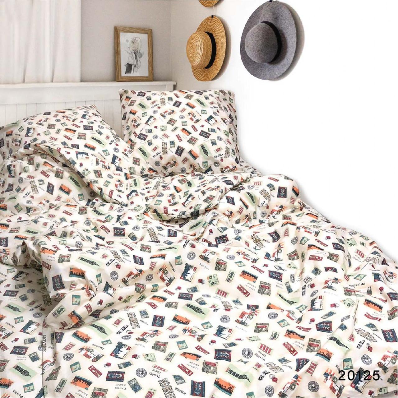 Комплект постельного белья ранфорс 20125 ТМ Вилюта