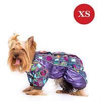 Комбінезон для собак дрібних порід DIEGO Mini snow zip M для хлопчиків, XS