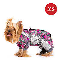 Комбинезон для собак мелких пород DIEGO Mini snow  zip F для девочек, XS