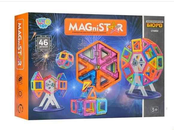 Магнитный конструктор LT4002 MAGniSTAR Фигуры 46 деталей
