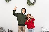 Новогодние парные худи на девочку и мальчика отличный подарок к новому году