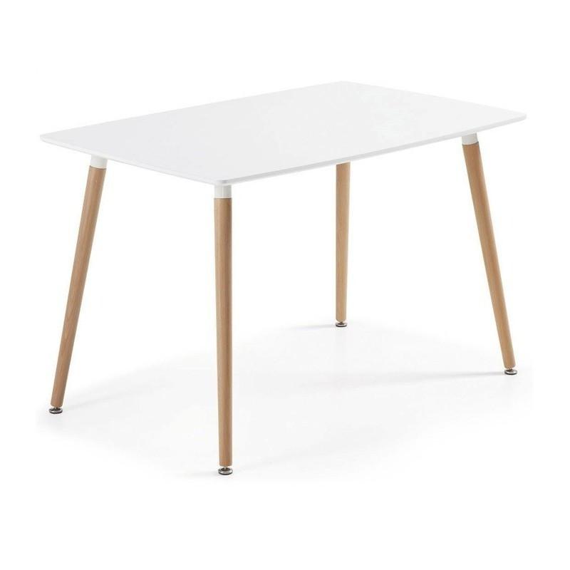 Стол обеденный Нури SDM, прямоугольный, белый, 120*80 см