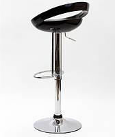 Высокий барный стул Торре SDM хромированный h=83 см Черный