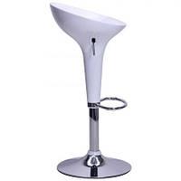 Высокий барный стул Джолли SDM пластик Белый