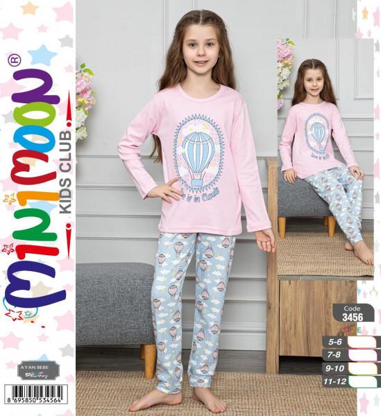 Пижама подростковая хлопок для девочки MINIMOON Турция
