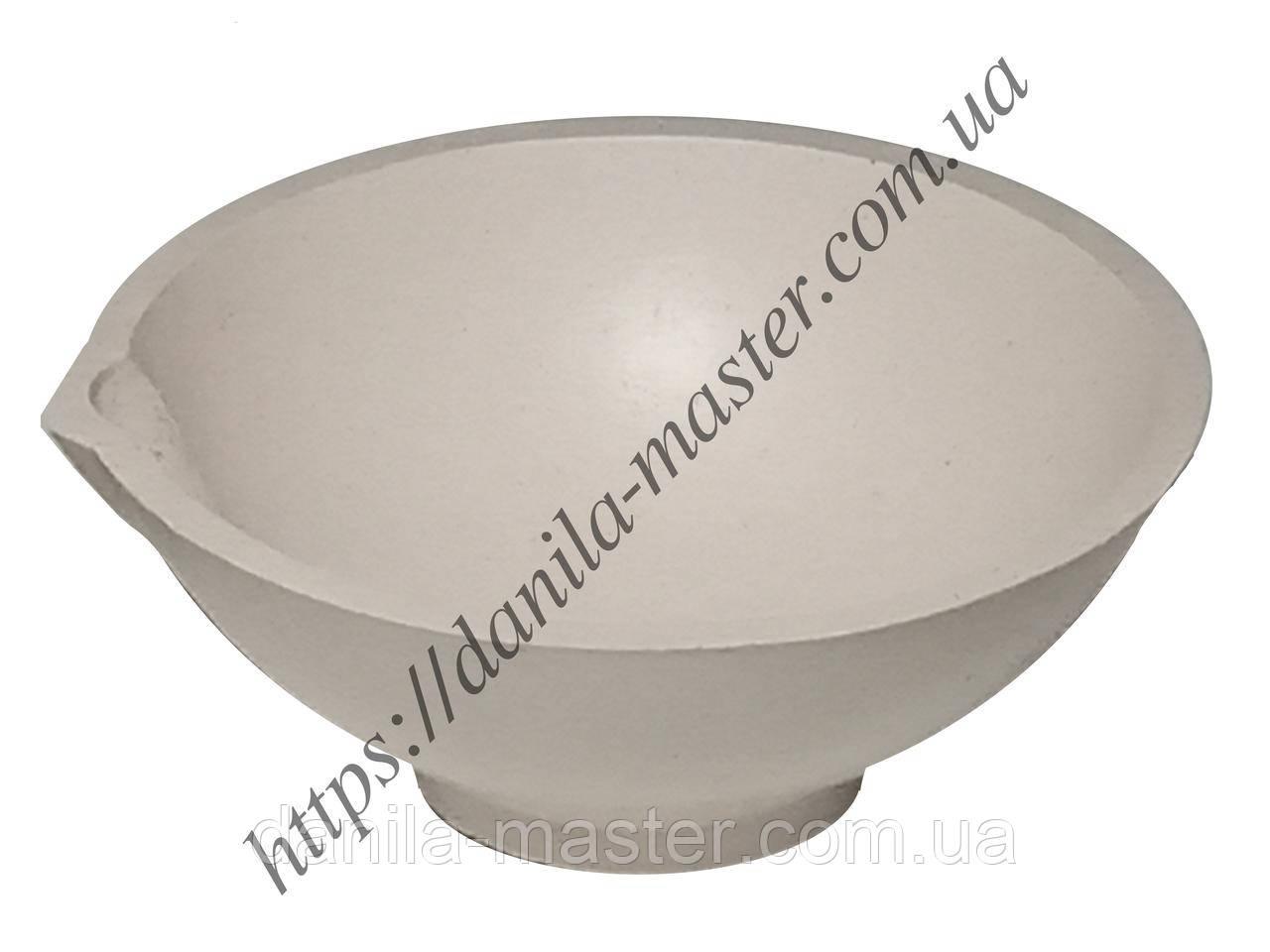 Тигель шамотно-глиняный №6 /Ø70 мм., h=27 мм./