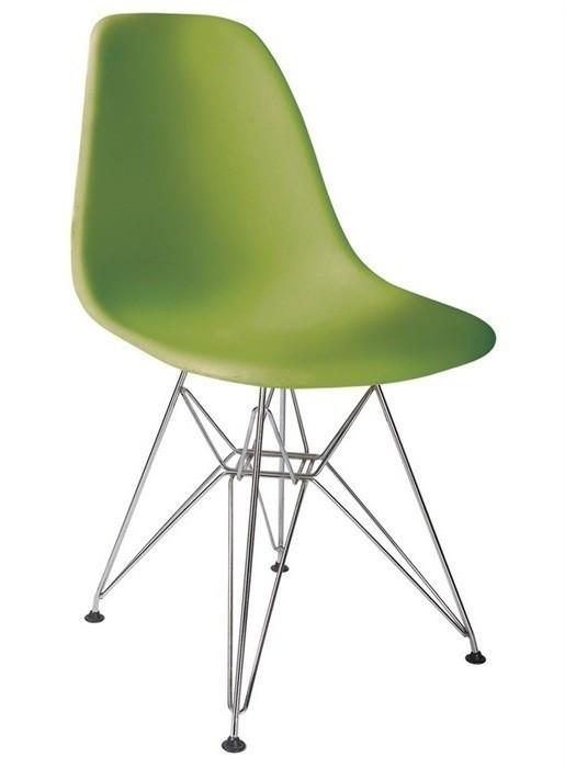 Стул Тауэр SDM, хромированный, пластик, цвет зеленый