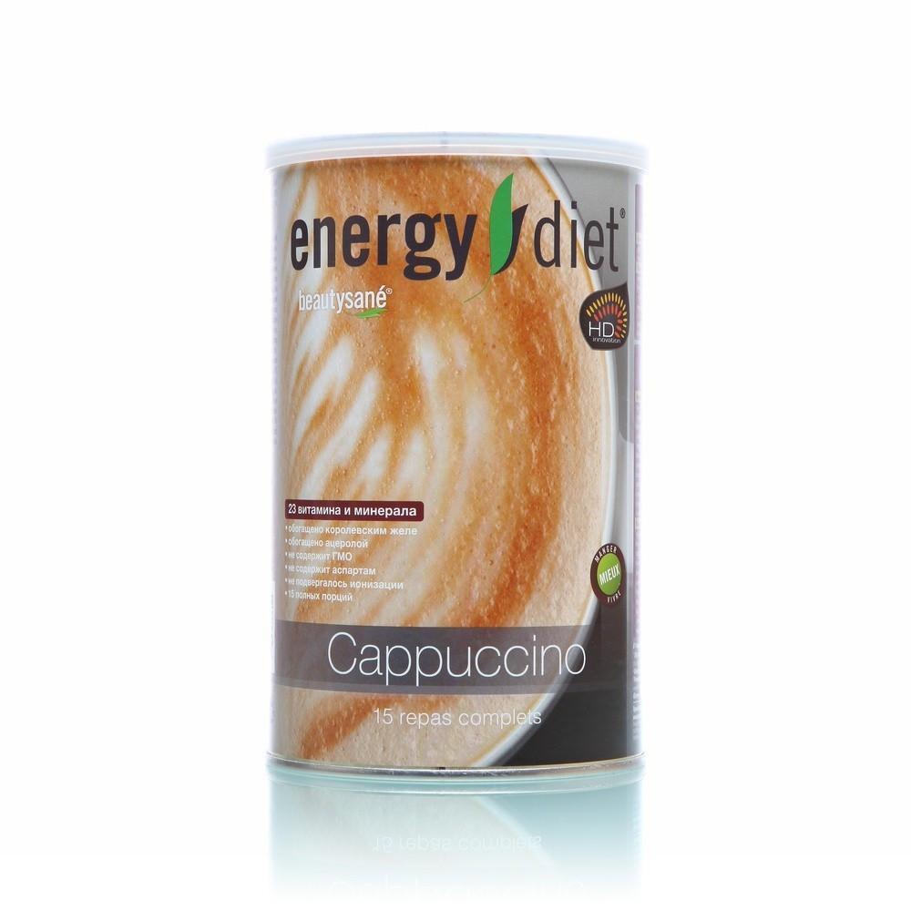 Коктейль Энерджи Диет  Energy Diet HD Капучино Сбалансированное питание 450 г