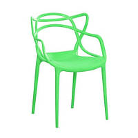 Стул дизайнерский Мастерс SDM, пластик, цвет светло -зеленый