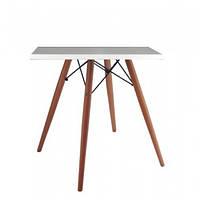 Обідній стіл Тауер W60 SDM квадратний 60*60 см Білий