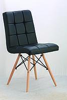 Стул Оскар SDM, деревянный, бук, экокожа, цвет черный