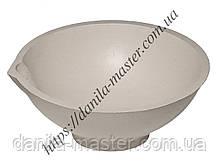 Тигель шамотно-глиняний №8 /Ø80 мм, h=32 мм./
