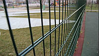 Панельное ограждение, металлический забор с полимерным покрытием Техна-Пром