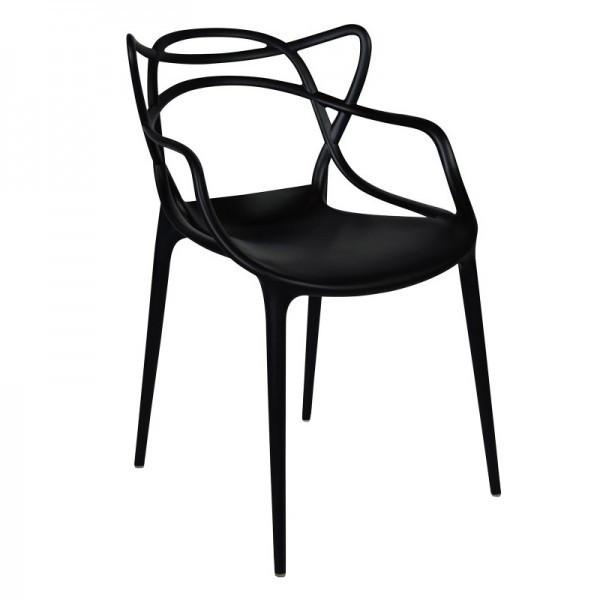 Стул дизайнерский Мастерс SDM, пластик, цвет черный