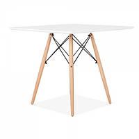 Стол обеденный Крит SDM квадратный 70*70 см Белый