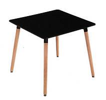 Обеденный стол Нури SDM квадратный 80*80 см Черный
