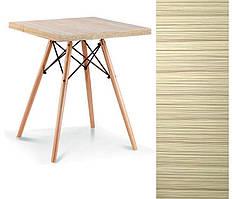 Обеденный квадратный стол Эльба N SDM 80*80 см натуральное дерево