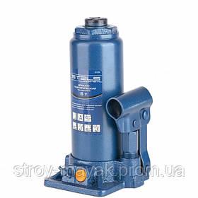 Домкрат гидравлический бутылочный, 6 т, h подъема 216-413 мм, STELS