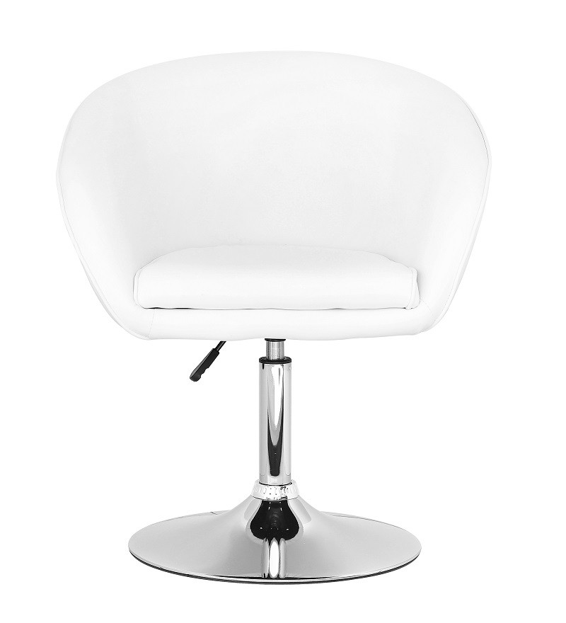 Кресло  Мурат SDM, мягкое, экокожа, регулируемое по высоте, цвет Белый