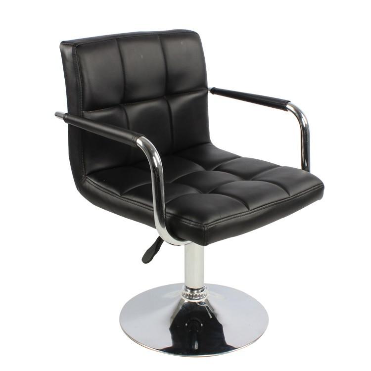 Кресло Артур SDM, регулируемое по высоте, экокожа, цвет черный