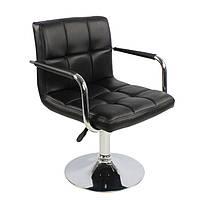 Кресло Артур SDM, регулируемое по высоте, экокожа, цвет черный, фото 1
