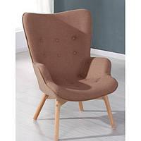 Крісло Флорино SDM, м'яке, дерево бук, колір коричневий