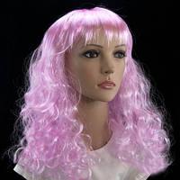 Парик Волнистый (светло-розовый)