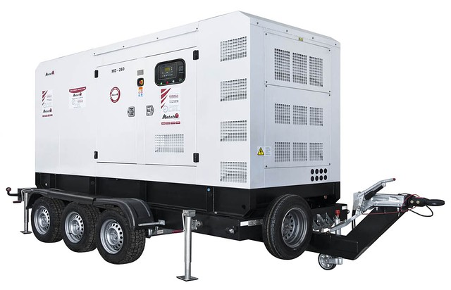 Трехфазный дизельный генератор MATARI MС250 (270 кВт)