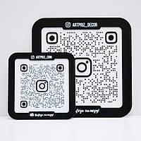 Инстаметка, вывеска-визитка, инстаграм сканер, Instametka, Instascanner, Instagram визитка от АРТПРИЗ -