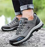 Кроссовки/ботинки мужские серые Dskchloe, фото 3